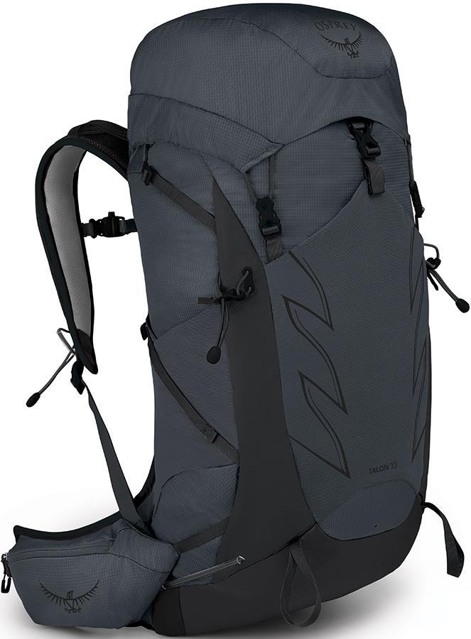 Osprey Talon 33 L/XL Multi-activity Backpack, 33L Eclipse Grey