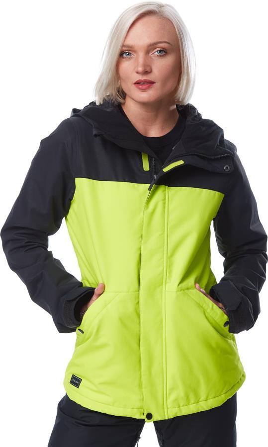 Volcom Womens Bolt Insulated Women's Ski/Snowboard Jacket, Uk 10 Lime