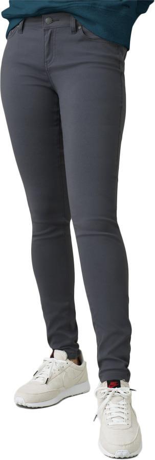 Prana Womens Briann Tall Women's All-Purpose Trousers, Uk 10 Coal