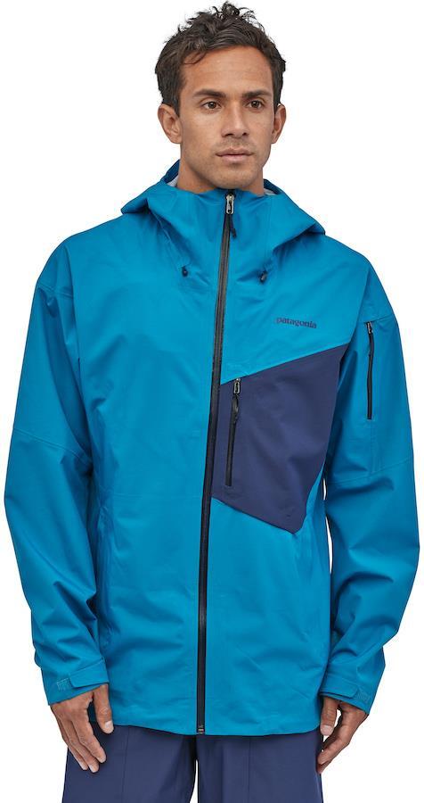 Patagonia SnowDrifter Snowboard/Ski Jacket, S Andes Blue