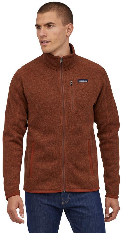 Patagonia Better Sweater Full Zip Fleece Jacket, XL Barn Red