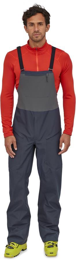 Patagonia SnowDrifter Ski/Snowboard Bib Pants, XL Smolder Blue