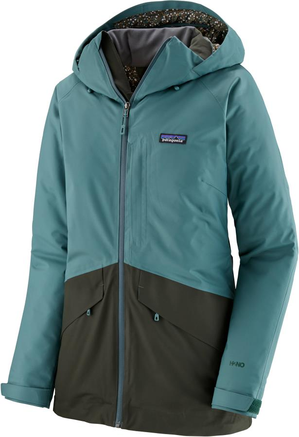 Patagonia Insulated Snowbelle Women's Snowboard/Ski Jacket, S Green