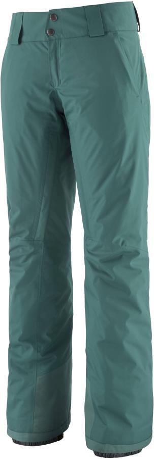 Patagonia Insulated Snowbelle Reg Women's Ski Pants, M Green
