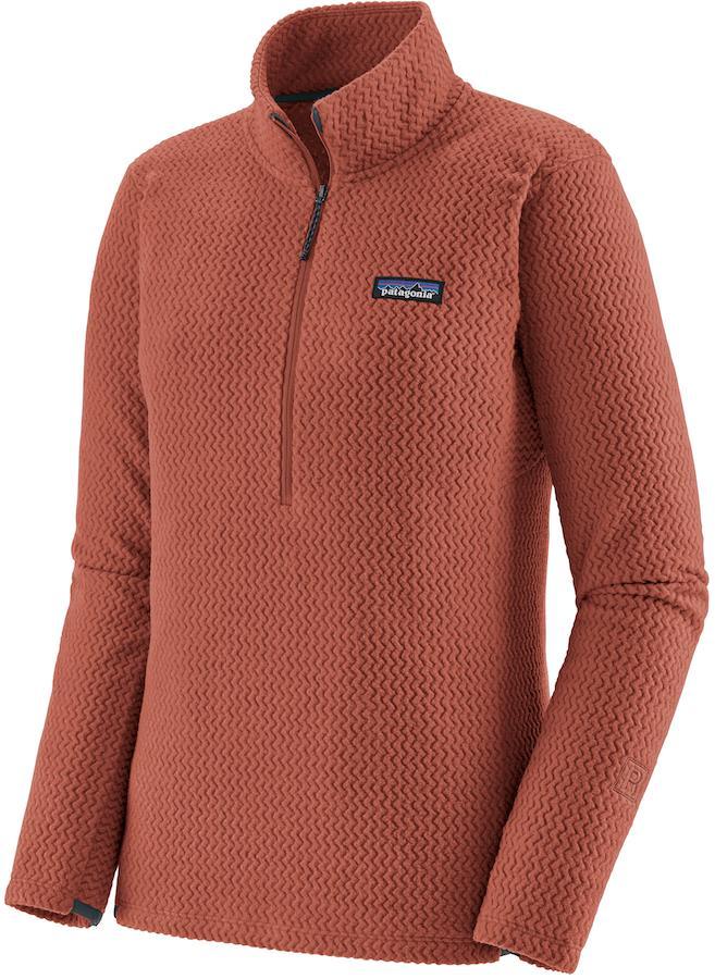Patagonia R1 Air Zip Neck Women's Fleece Jacket, UK 14 Spanish Red