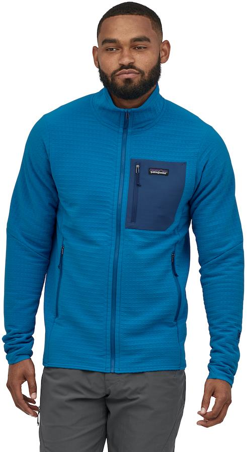 Patagonia R2 TechFace Softshell Jacket, S Andes Blue