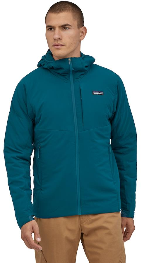 Patagonia Adult Unisex Nano Air Hoody Stretch Insulated Jacket, S Crater Blue
