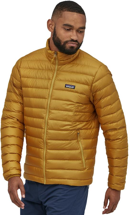 Patagonia Down Sweater Men's Insulated Jacket, XL Buckwheat Gold
