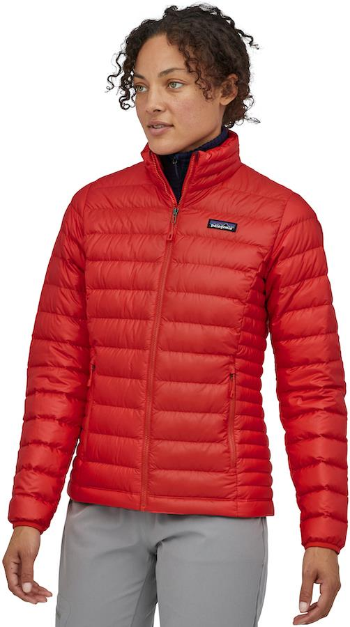 Patagonia Down Sweater Women's Insulated Jacket, UK 8 Catalan Coral