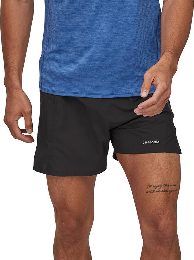 "Patagonia Adult Unisex Strider Pro 5"" Running Shorts , Xl Black"