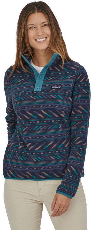 Patagonia Women's Micro D Snap-T Fleece Pullover, UK 10 Bergy Bits