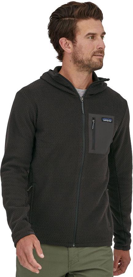 Patagonia R1 Air Full Zip Hoody Fleece Jacket, S Black