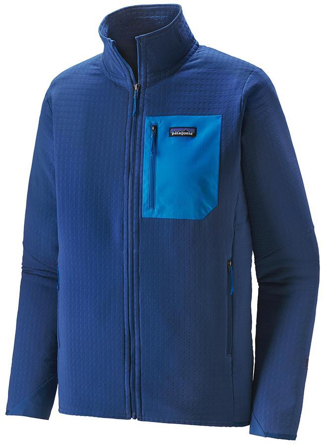 Patagonia R2 TechFace Softshell Jacket, M Smolder Blue