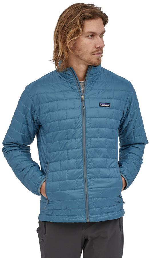 Patagonia Nano Puff PrimaLoft Insulated Jacket, L Abalone Blue