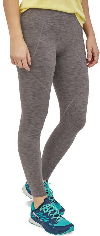 Patagonia Womens Centered Tights Women's Sports Leggings, Uk 10 Space Dye