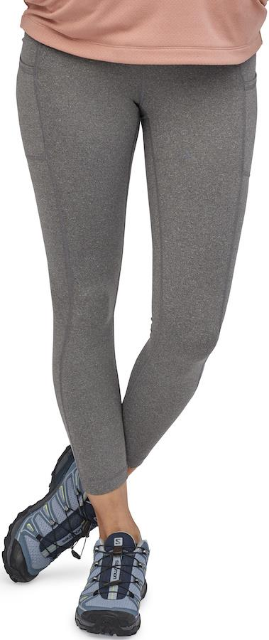 Patagonia Lightweight Pack Out Women's Sports Tights, UK 8 Forge Grey