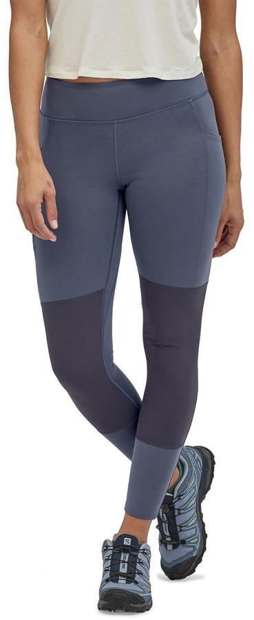 Patagonia Pack Out Women's Sports Tights, UK 12 Smolder Blue