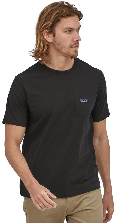 Patagonia P-6 Label Pocket Responsibili-Tee Men's T-Shirt M Black