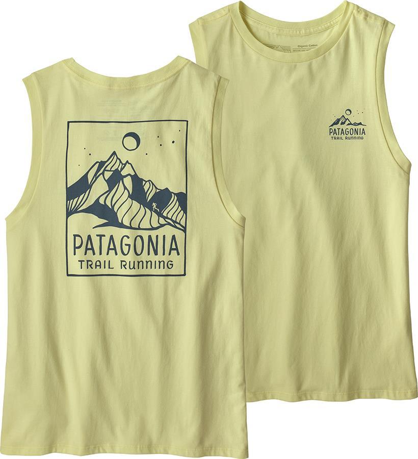 Patagonia Ridgeline Runner Organic Women's Vest, UK 14 Isla Yellow