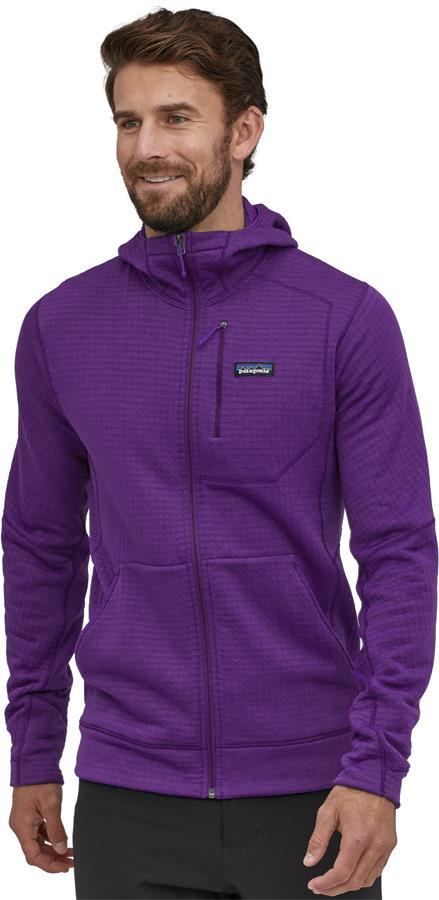 Patagonia R1 Air Full Zip Hoody Fleece Jacket, S Purple