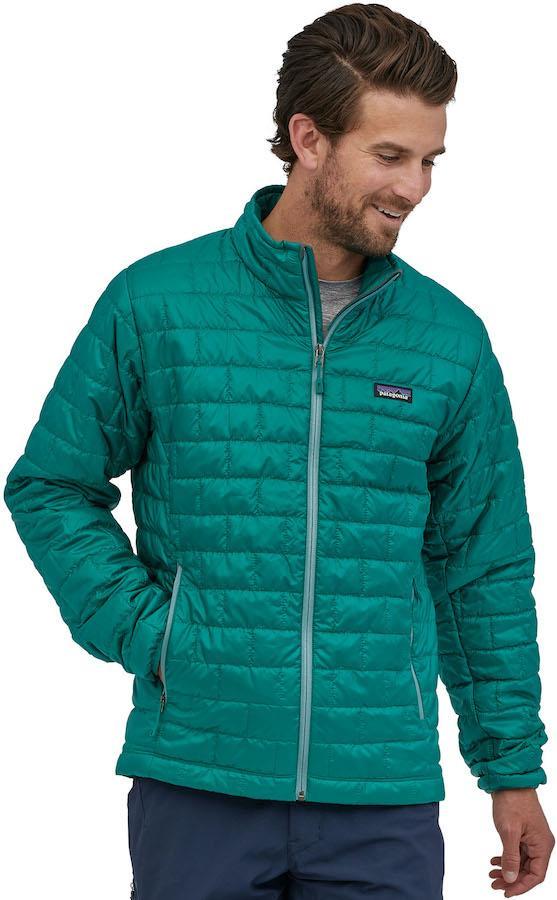 Patagonia Nano Puff PrimaLoft Insulated Jacket, S Borealis Green