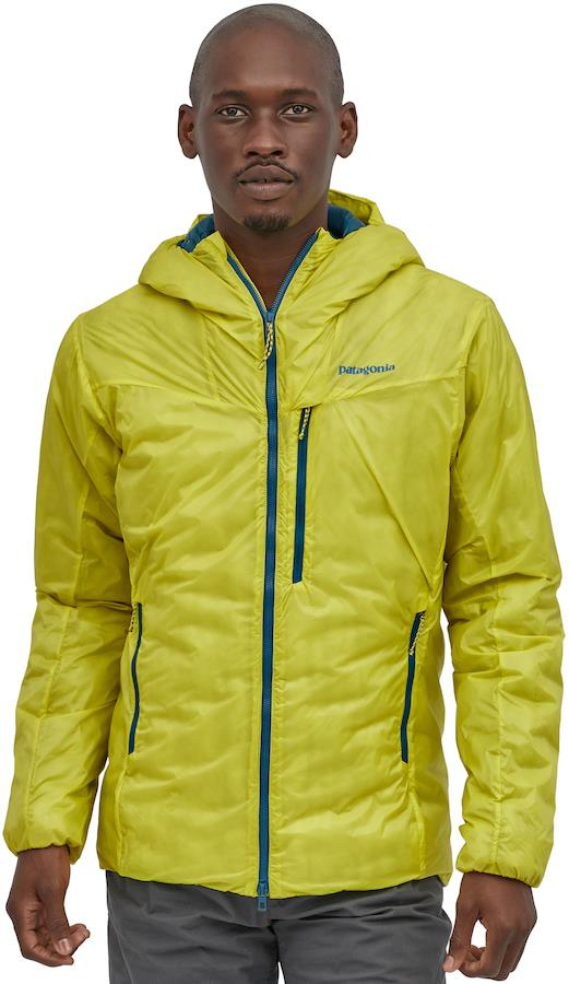 Patagonia DAS Light Hoody Men's Insulated Jacket, S Chartreuse
