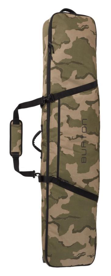 Burton Wheelie Gig Snowboard Bag, 156cm Barren Camo Print
