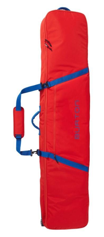 Burton Wheelie Gig Snowboard Bag, 146cm Flame Scarlet