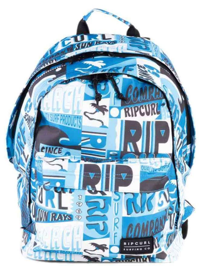 Ripcurl Double Dome BTS Backpack, 24L White/Blue