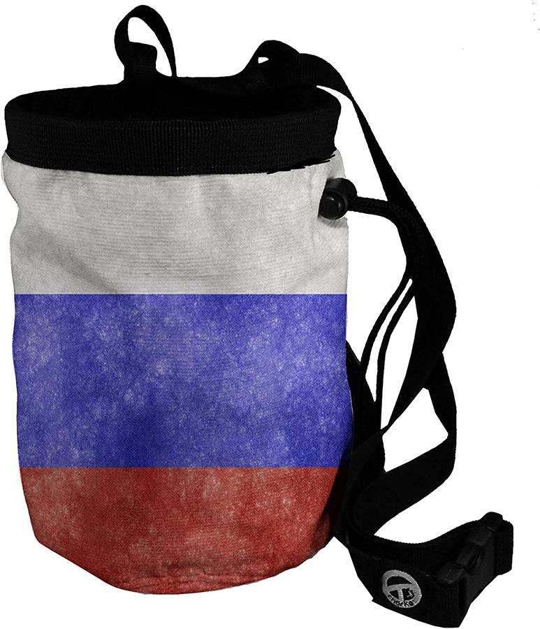 Charko Flag Bags Rock Climbing Chalk Bag, Regular Russia