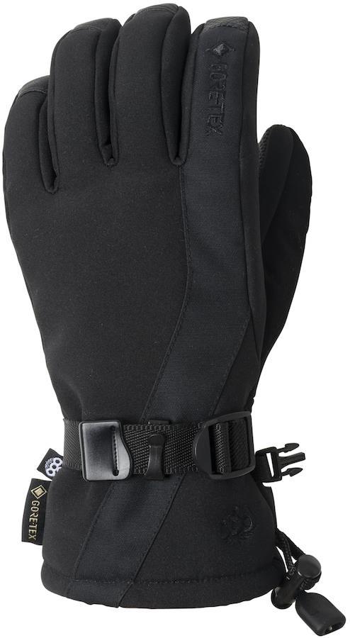 686 GORE-TEX Linear Women's Snowboard/Ski Gloves, S Black