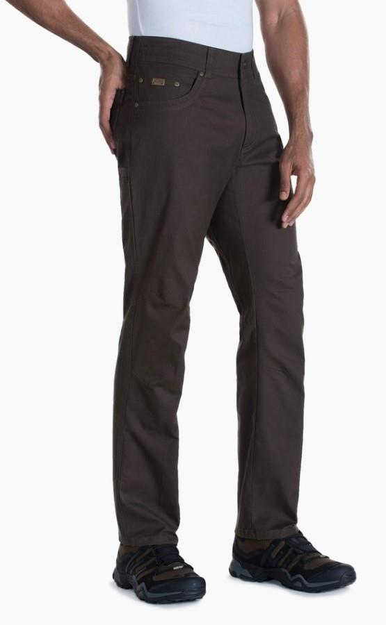 Kuhl Kanvus Jeans Regular Climbing Trousers, 32/32 Wood Grain