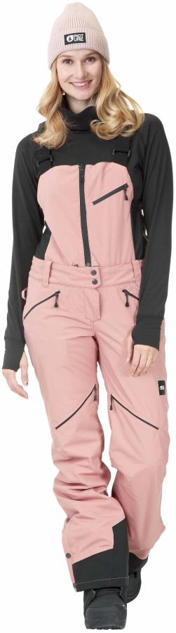 Picture Haakon Women's Ski/Snowboard Bib Pants, M Misty Pink