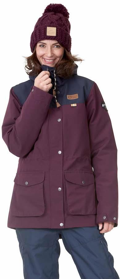 Picture Kate Women's Ski/Snowboard Jacket, S Burgundy