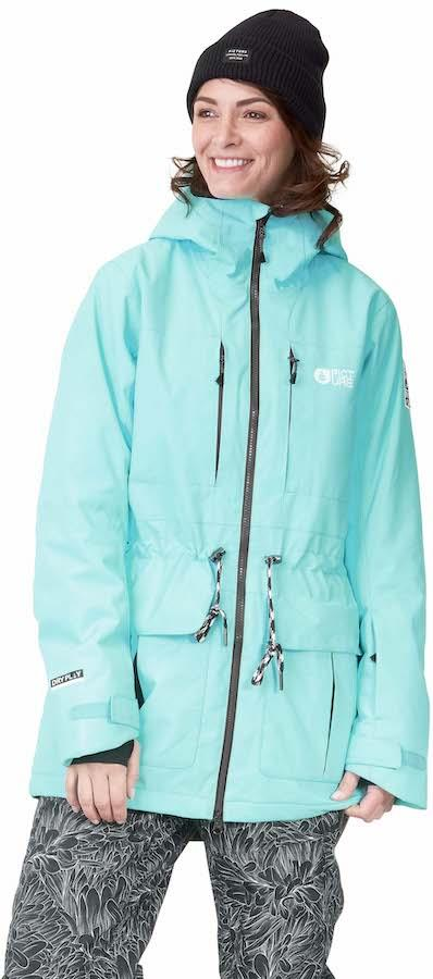Picture Apply Women's Ski/Snowboard Jacket, M Turquoise