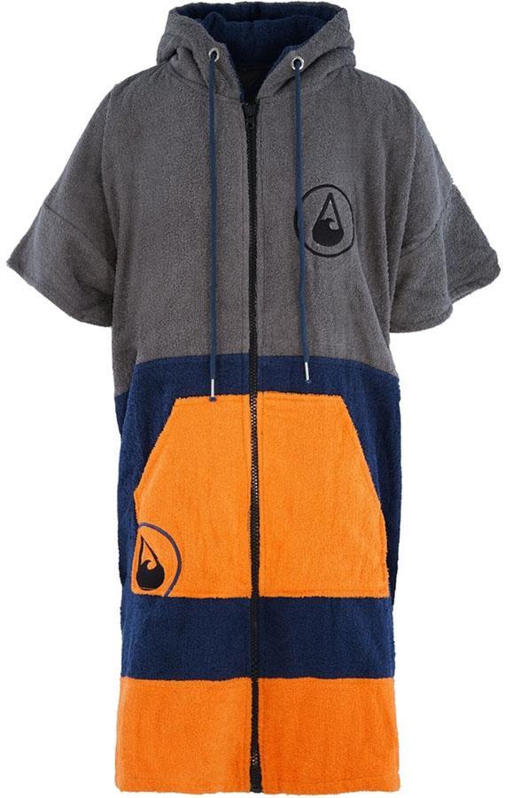 WAVE HAWAII Zip Poncho Change Robe Towel, Medium Shany