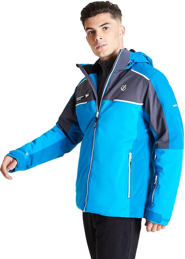 Dare 2b Intermit II Insulated Snowboard/Ski Jacket, M Methyl/Petrol