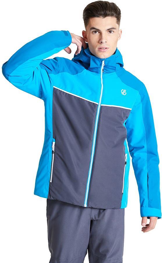 Dare 2b Observe Insulated Snowboard/Ski Jacket L Methyl Blue/Ebony