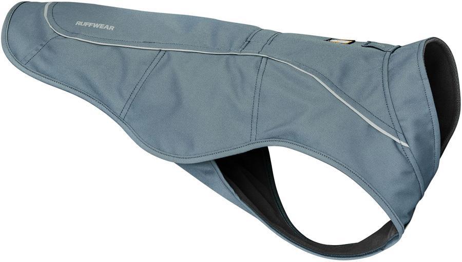 Ruffwear Overcoat Utility Jacket Dog Coat, L Slate Blue