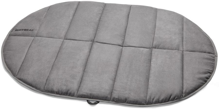 Ruffwear Highlands Pad Portable Folding Dog Bed, M Cloudburst Grey