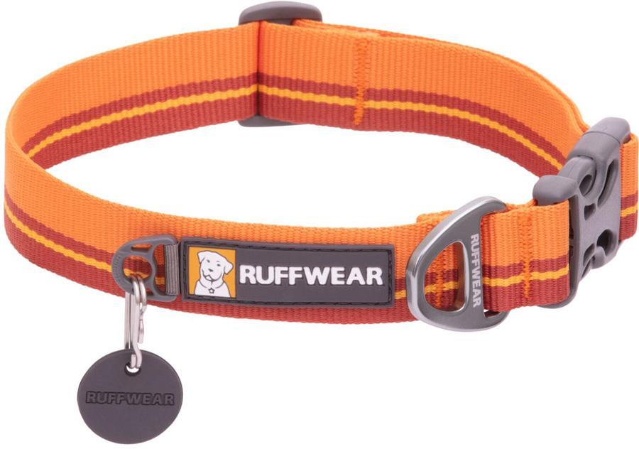 Ruffwear Flat Out Webbing Dog Collar, Small Autumn Horizon