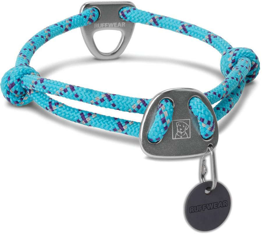 Ruffwear Knot-a-Collar Dog Collar L Blue Atoll