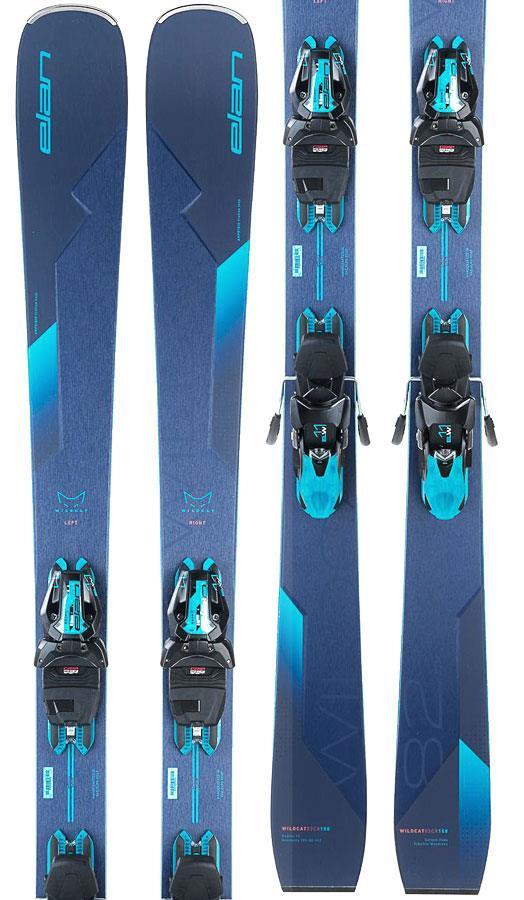 Elan Wildcat 82 CX Powershift ELW 11 GW Women's Skis, 152cm Blue