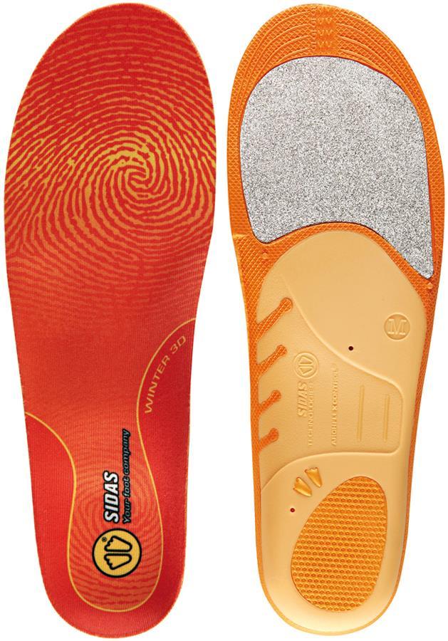 Sidas Winter 3D Snowboard/Ski Boot Insoles S Orange