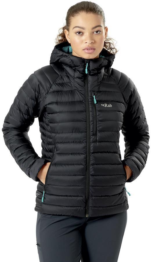 Rab Microlight Alpine Women's Insulated Jacket, XS / UK 8 Black