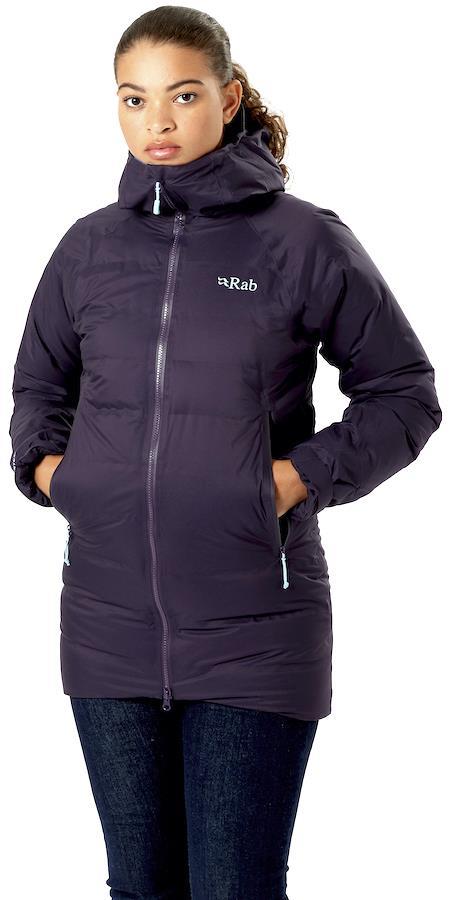 Rab Valiance Women's Insulated Waterproof Parka Jacket, S Fig