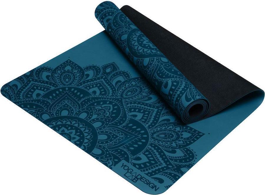 Yoga Design Lab Infinity Yoga/Pilates Mat, 3mm Mandala Teal