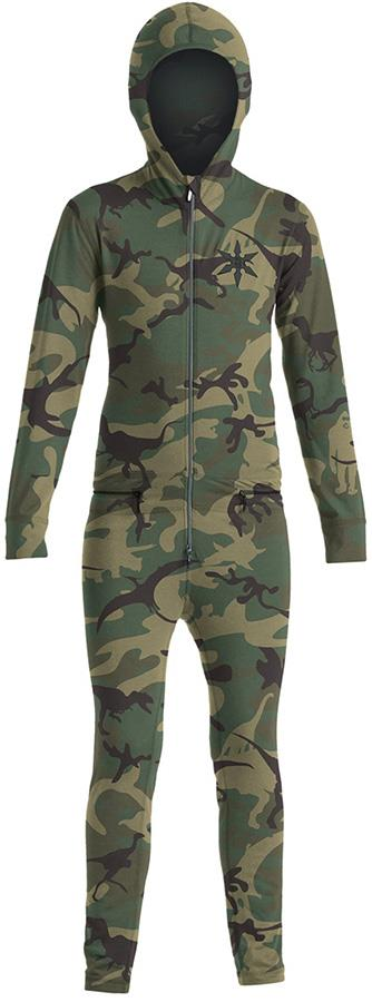 Airblaster Youth Ninja Thermal One Piece Suit, Age 6-8 Camo