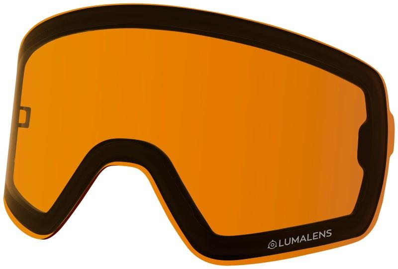 Dragon NFX2 Ski/Snowboard Goggles Spare Lens, LumaLens Amber Photo