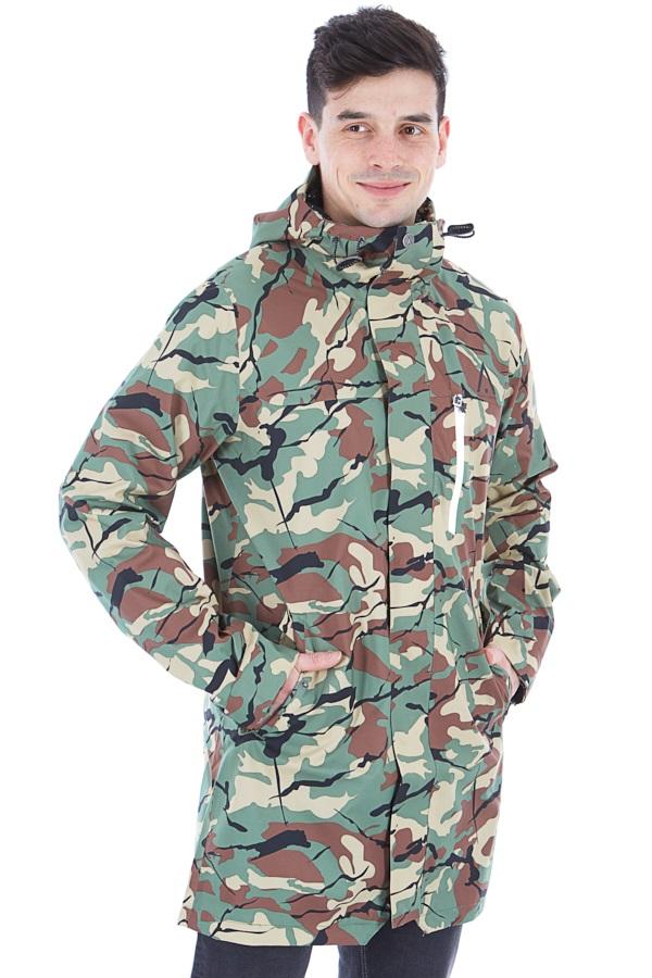 Wearcolour Hurricane Parka Men's Waterproof Jacket, L Leaf